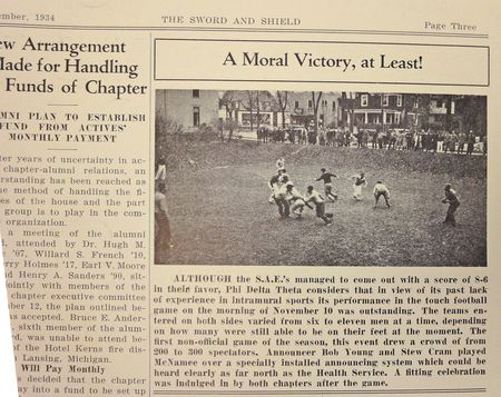 PDT MA Sword Shield 1934 December Mud Bowl