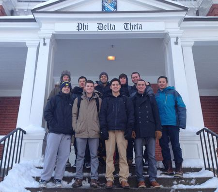 PDT MA 2014 Winter Pledge Class house picture