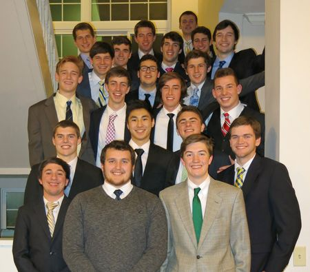 PDT MA 2013 fall pledges house activated 2014 January 29