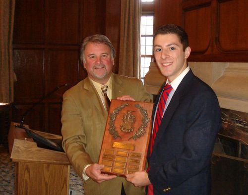 990 Holmes award winner